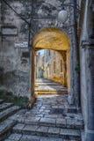 Золотой строб Хорватия стоковые изображения rf