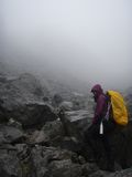 Золотой след Chilkoot лестниц Стоковые Изображения RF