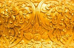 Золотой тайский стиль стоковые изображения rf