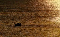 Золотой час на Bourgi Стоковые Изображения RF