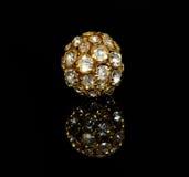 Золотой шарик драгоценности Стоковая Фотография RF