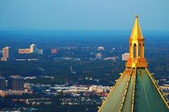 Золотой шпиль Стоковое Фото