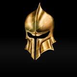 Золотой шлем Стоковое фото RF