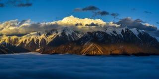 Золотой Mt Gonaga Стоковые Изображения