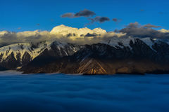 Золотой Mt Gonaga Стоковые Изображения RF