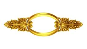 золото богато украшенный Стоковая Фотография