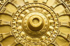 Золото Будда предпосылки Стоковые Изображения