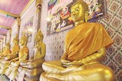 золото Будды Стоковая Фотография