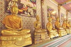 золото Будды Стоковые Изображения