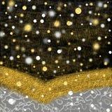 Золото и серебр Стоковое Фото