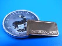 Золото и серебр Стоковые Фотографии RF