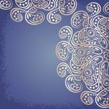 Золото мандалы, племенное иллюстрация вектора