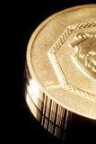 золото монетки чисто Стоковые Фотографии RF