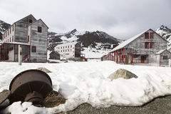 Золотодобывающий рудник независимости в Аляске Стоковая Фотография RF