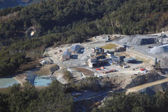 Золотодобывающий рудник Oceana Стоковое Изображение RF