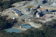 Золотодобывающий рудник Oceana Стоковые Изображения