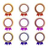Золото, серебр и бронзовые медали Стоковое фото RF