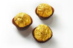 Золото шоколада стоковые фотографии rf