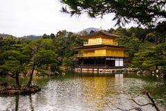 Золото Япония замка Стоковое Изображение