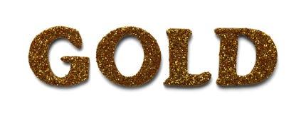 Золото яркого блеска Стоковые Фото
