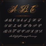 Золото ABC Стоковое фото RF