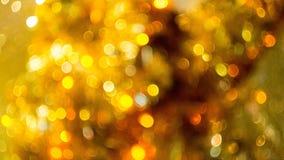 Золото Bokeh Стоковая Фотография RF