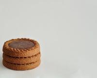 Золотые коричневые печенья Стоковая Фотография