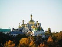 Золотые куполы церков Стоковые Фото