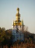 Золотые куполы церков Стоковая Фотография