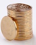 Золотые монетки Стоковые Фотографии RF