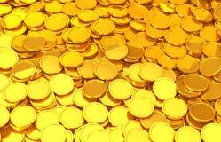 Золотые монетки бесплатная иллюстрация
