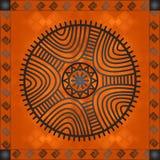 Золотые орнаменты африканских стран и племен Стоковые Фото