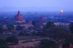 Золотые пагоды Bagan Стоковое Фото