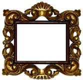 Золотые рамки Стоковая Фотография