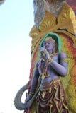 Золотые статуи идола Стоковая Фотография