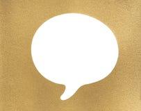 Золотые текстура и рамка Стоковое Изображение