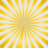 Золотые лучи вектора Стоковая Фотография