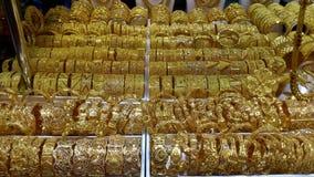 Золотые ювелирные изделия, Дубай Стоковое Изображение