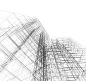 Зодчество конструкции Стоковое Изображение