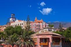 Зодчество на острове Tenerife - Canaries Стоковое Фото