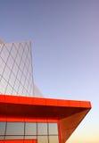зодчество самомоднейшее Здание в высокотехнологичном стиле Стоковое Изображение RF