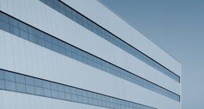 зодчество самомоднейшее Здание в высокотехнологичном стиле Стоковые Изображения