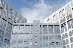 зодчество самомоднейшее Самомоднейшее офисное здание в Гамбурге Стоковая Фотография