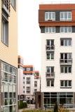 зодчество самомоднейшее Социальное снабжение жилищем Стоковые Изображения RF