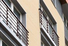 зодчество самомоднейшее Социальное снабжение жилищем Стоковое Фото