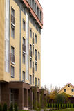 зодчество самомоднейшее Социальное снабжение жилищем Стоковое Изображение RF