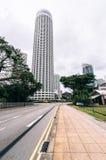 зодчество самомоднейший singapore стоковые изображения