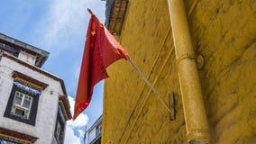 зодчество Тибет Стоковое Изображение