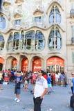 зодчество barcelona Стоковая Фотография