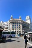 зодчество barcelona Стоковое фото RF